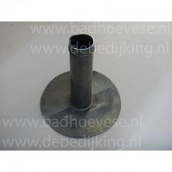 Ubb.alum.flexibele buis  125 mm. b