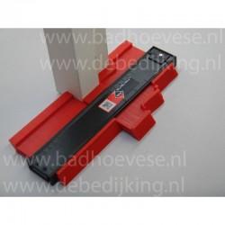 Plastic lijm T stuk 125 mm