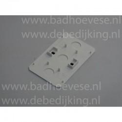 Plastic buis 3,2 dik  75 mm