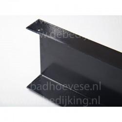 GB Hoekanker met ril 125x125-46x2.5