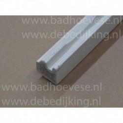 betonplaat 50x50   grijs   5 cm