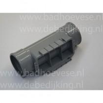 PVC hulpstuk - rubber manchet