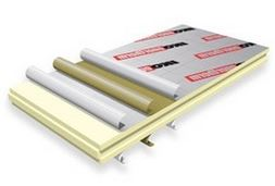Pir insulation board in various thicknesses